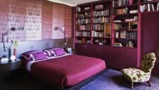 rose fuchsia chambre design éclectique original
