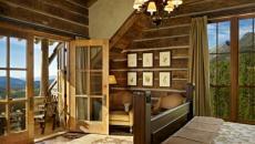 maison rustique chambre avec belle vue