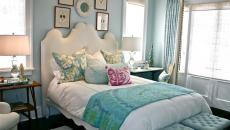 Design déco chambre à coucher chaleureuse féminine