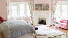 Chambre déco claire lumineuse féminine personnelle