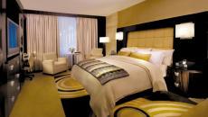 Inspiration moderne de cette chambre d'hôtel