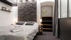 ambiance épurée minimaliste chambre