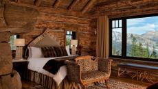 belle vue panoramique chambre rustique