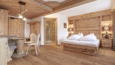 déco suite bois authentique chambre hôtel