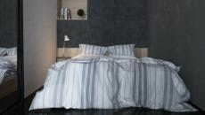chambre déco simple épurée en gris