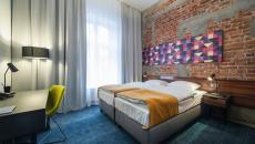 chambre design industriel de l'hotel