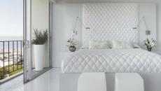 chambre moderne en blanc
