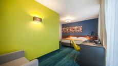 chambre design du Tobaco Hotel