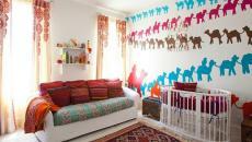 chambre enfant décoration inspirée par les couleurs d'Orient