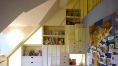 chambre sous le toit optimisée enfant