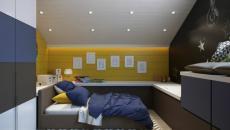duplex chambre d'enfant aménagement