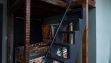 chambre d'enfant flippers lit mezzanine