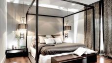lit à baldaquin luxe design élégant