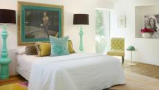 décoration chambre touches féminines