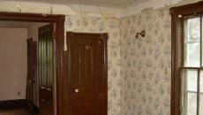 chambre de l'ancienne maison