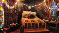 multicolore décoration de Noël dans la chambre