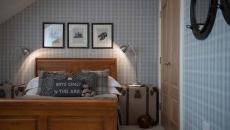 influence masculine chambre design british