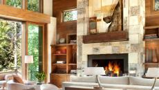 style rustique intérieur accueillant chalet