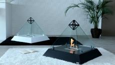 cheminée contemporaine moderne design élégant luxe