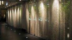 hotel luxe panneaux japonais brillant design