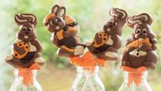 sucette chocolat de Pâques lapin