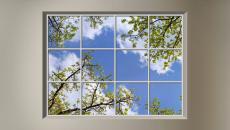 panneaux LED ciel artificiel ensoleillé