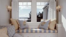 banquette sous fenêtre aménagement chambre idées
