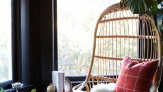 fauteuil balançoire intérieur maison coin pour lire