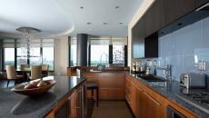 Modernité et esthétisme dans une cuisine