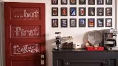 décoration créative idée déco machine à café table