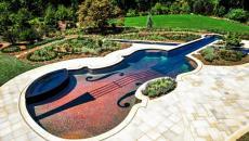 piscine extérieure original construire sa