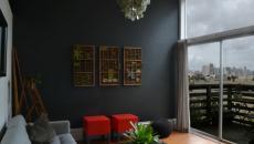 peindre les murs maison en gris