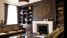 design peindre les murs salon