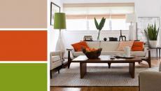 séjour design moderne couleurs nuancier