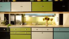 placards cuisine couleurs diverses