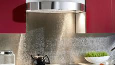 design original moderne dosseret de cuisine en métal