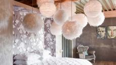 chambre déco éclectique moderne et originale