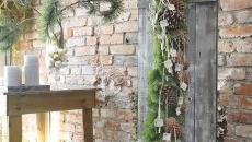 originale et rustique décoration extérieure Noël