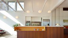 cuisine moderne spots luminaire LED éclairage
