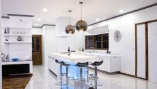 idées déco pour une cuisine moderne LED
