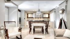 design luxe intérieur grande cuisine