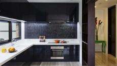 cuisine aménagée moderne maison rénovée