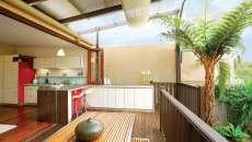 appartement zen cuisine terrasse ville