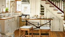 cuisine moderne sous l'escalier design