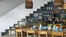 cuisine moderne sous l'escalier
