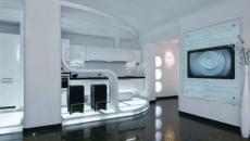 cuisine de demain design futuriste