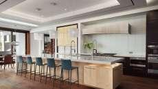 cuisine ouverte moderne maison exotique de vacances luxe