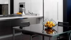Superbe cuisine moderne et design en gris