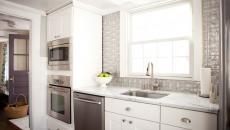 touche déco métallique dosseret de cuisine