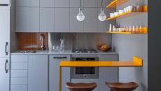 design déco petite cuisine fonctionnelle appartement